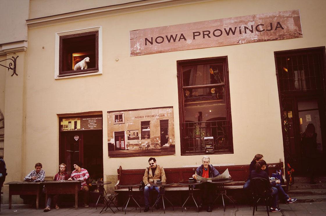 Na Brackiej u Turnaua. Nowa Prowincja, Kraków, ul. Bracka 3-5