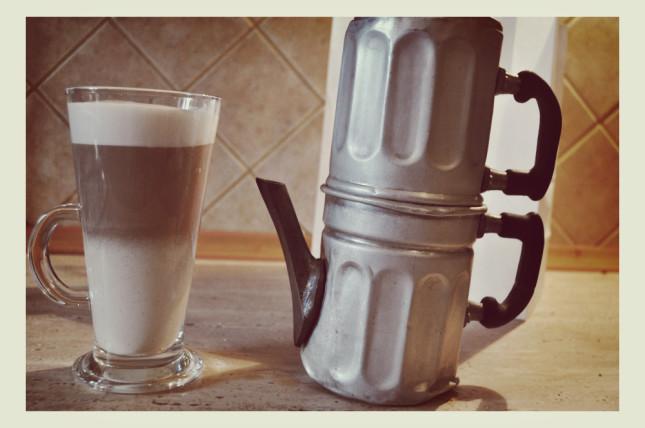 Przepis na kawę latte