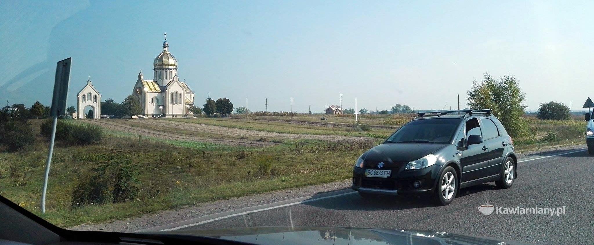 Droga na Ukrainie