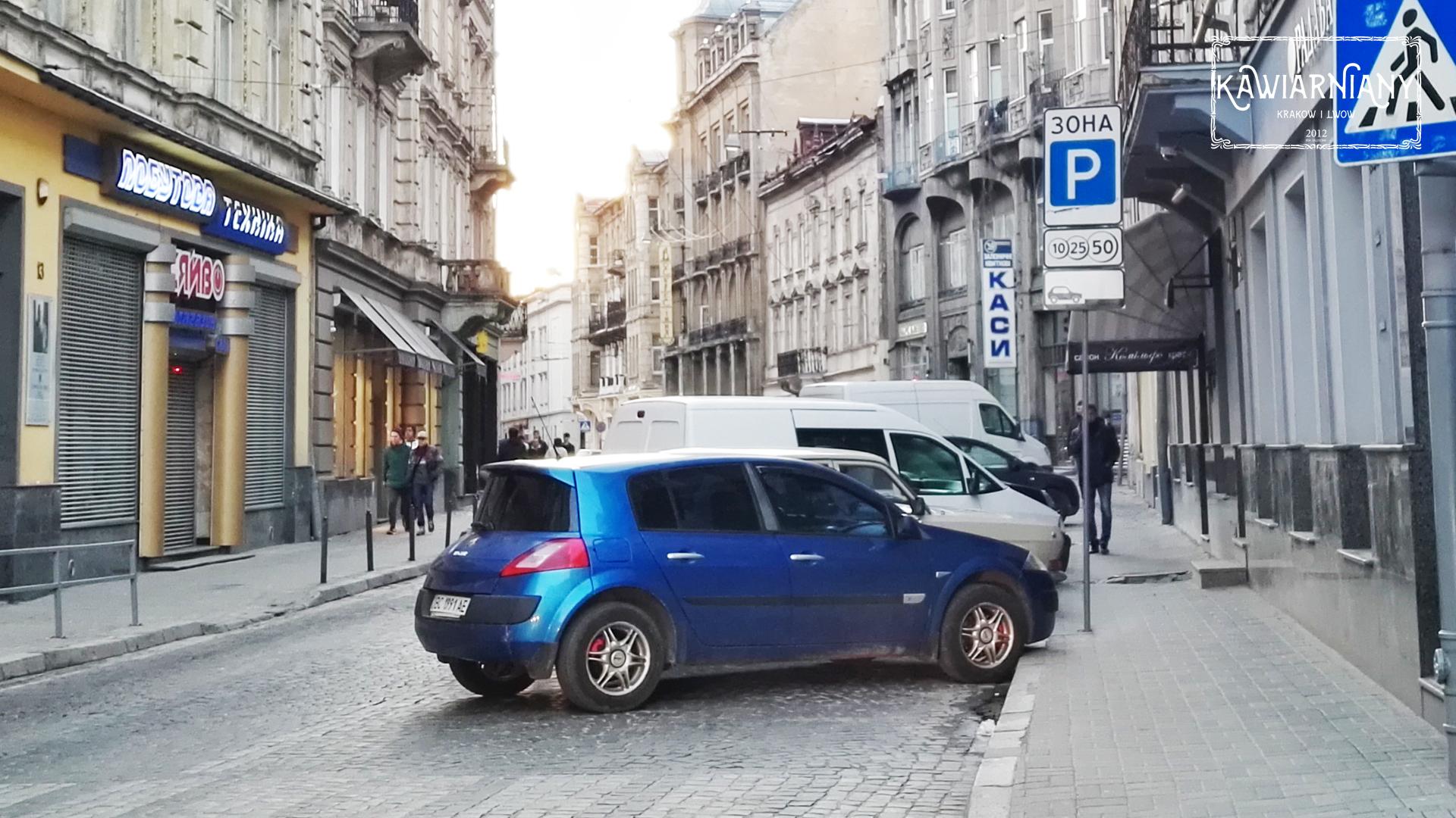 Samochodem do Lwowa: Parkingi strzeżone w centrum Lwowa