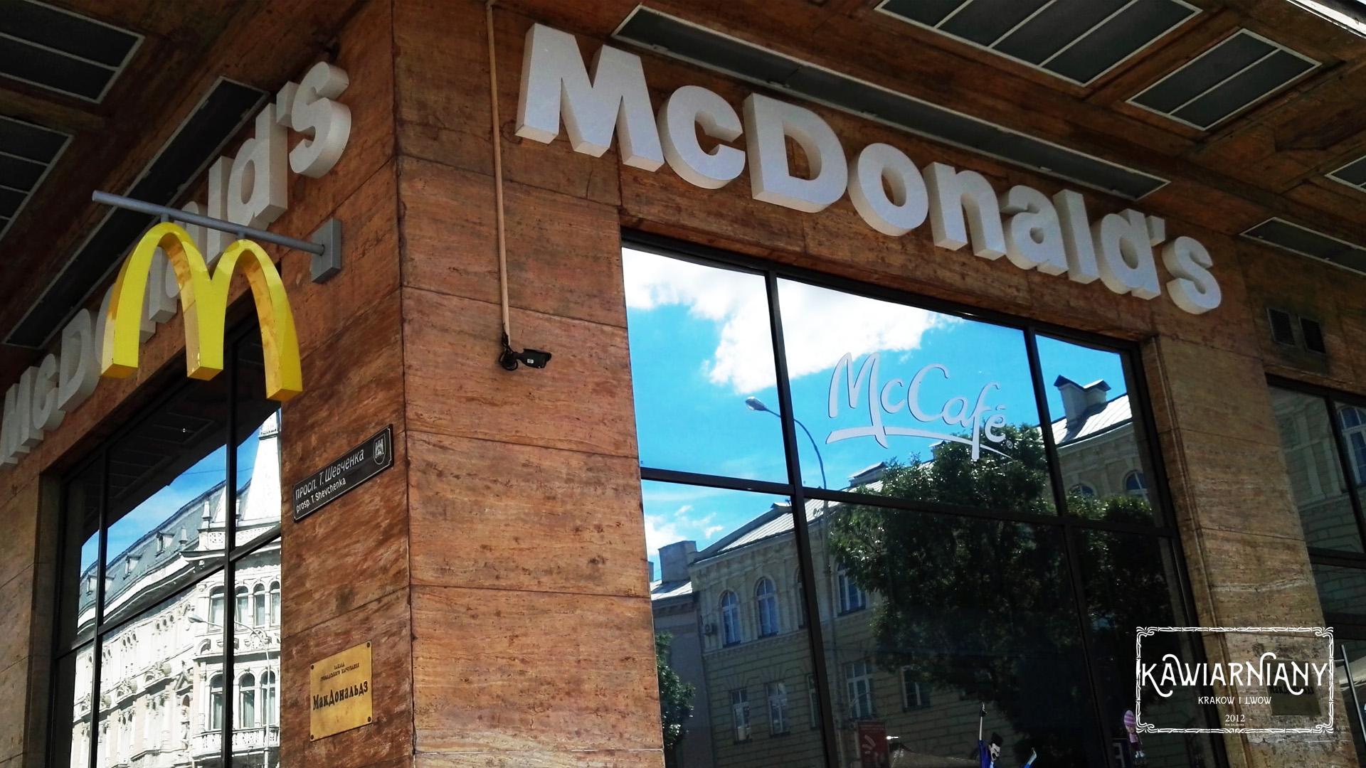 McDonald's we Lwowie – menu, ceny, lokalizacje