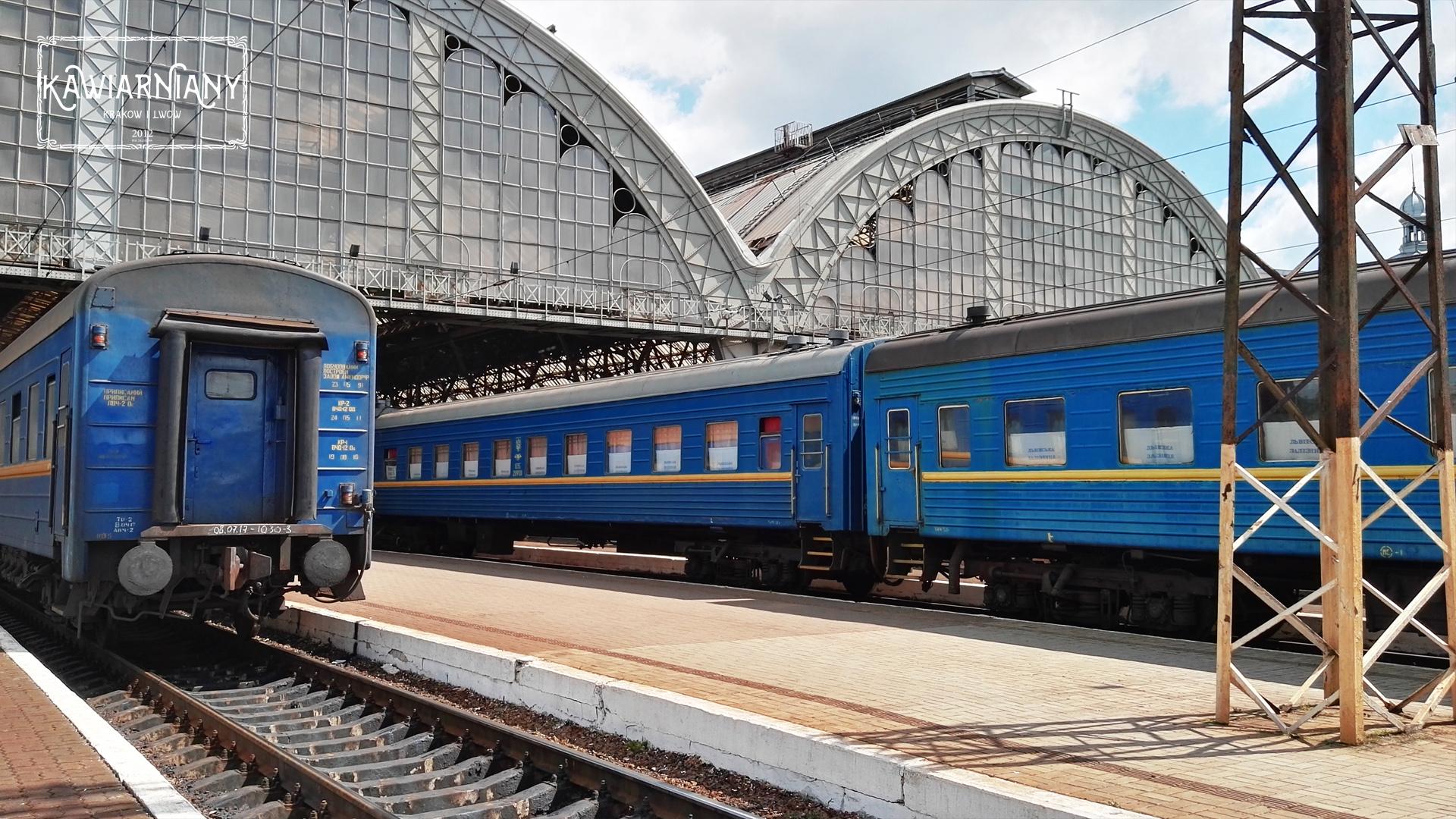 Co robić i zwiedzać we Lwowie? Lwowski dworzec Lwów Główny
