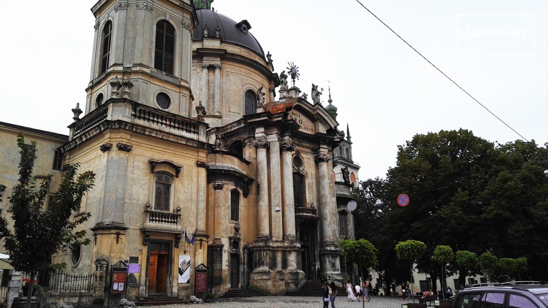 Lwów - kościół Dominikanów