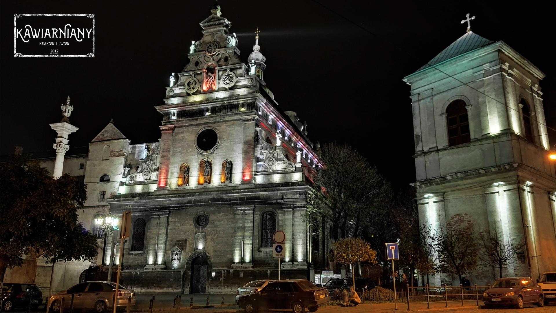 Lwów - kościół św. Andrzeja i klasztor Bernardynów