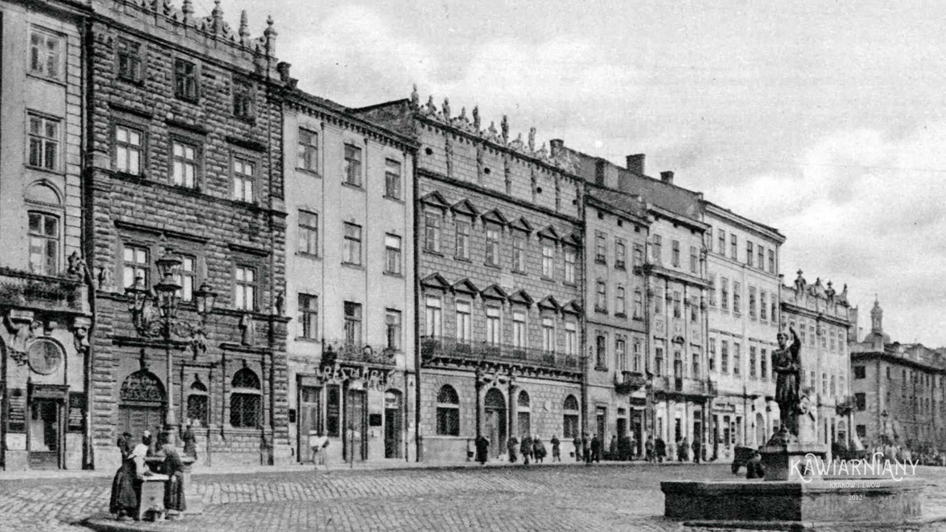 Lwów - Kamienica Królewska
