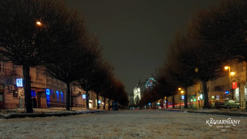 Lwów - noc