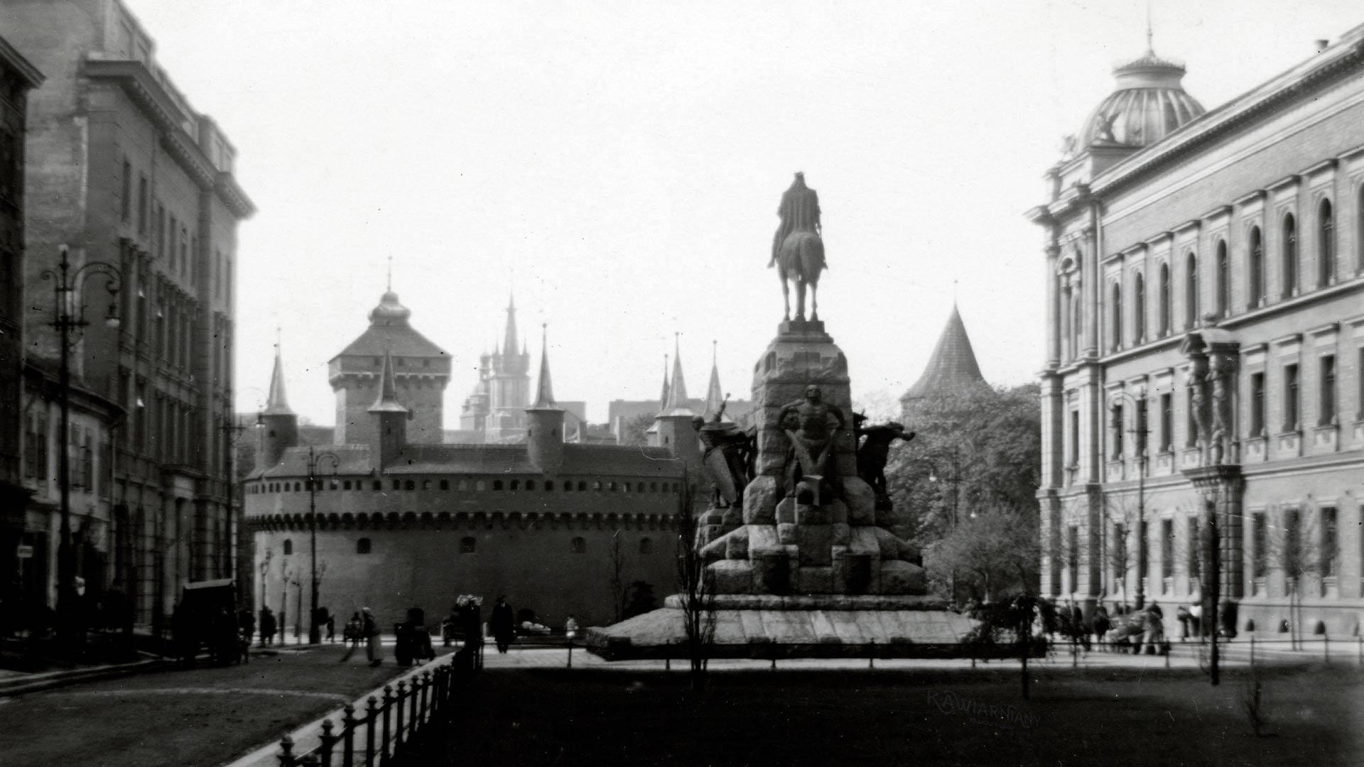 Kraków - Pomnik Grunwaldzki