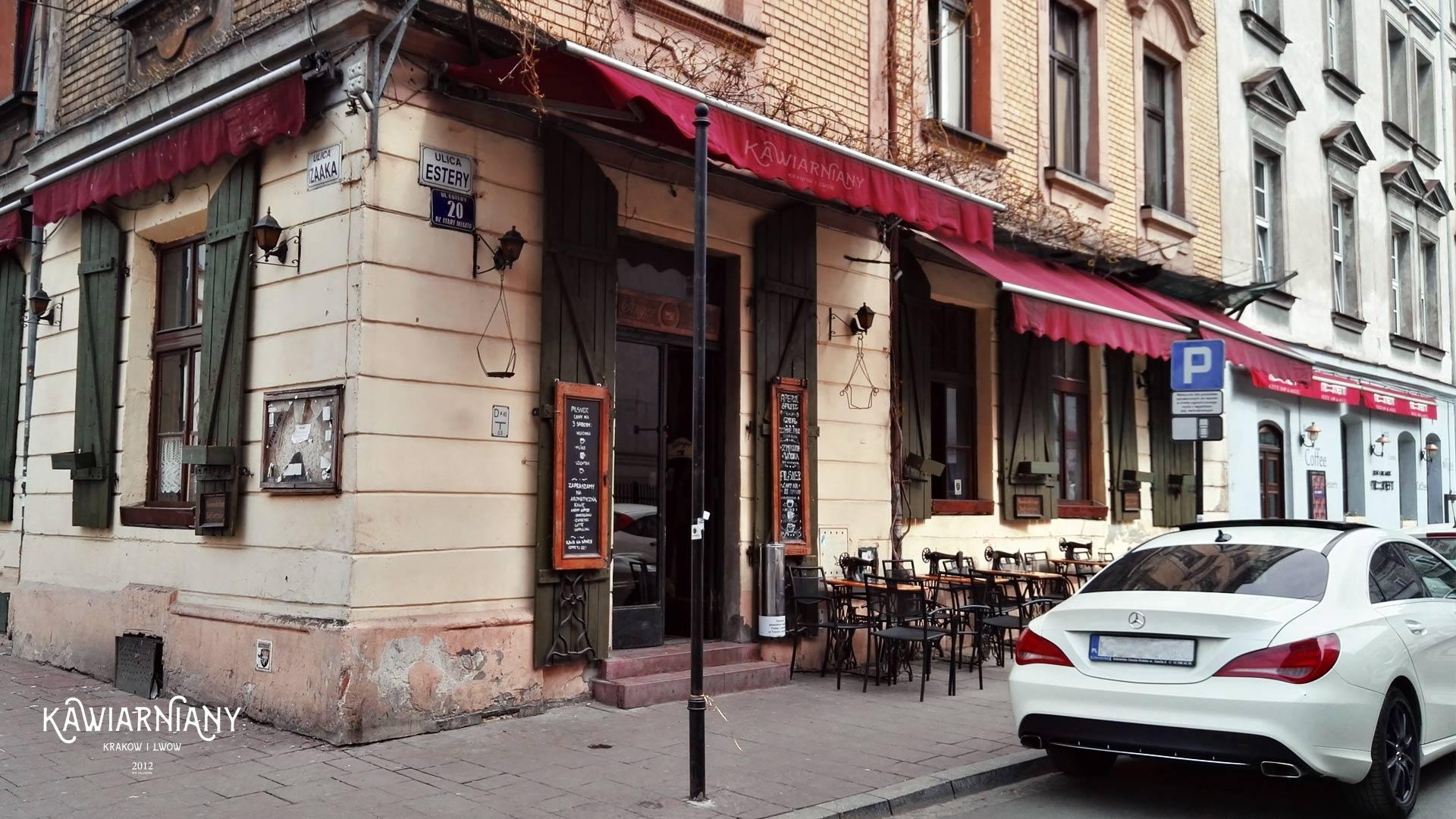 Kawiarnia Singer, Kraków, Kazimierz