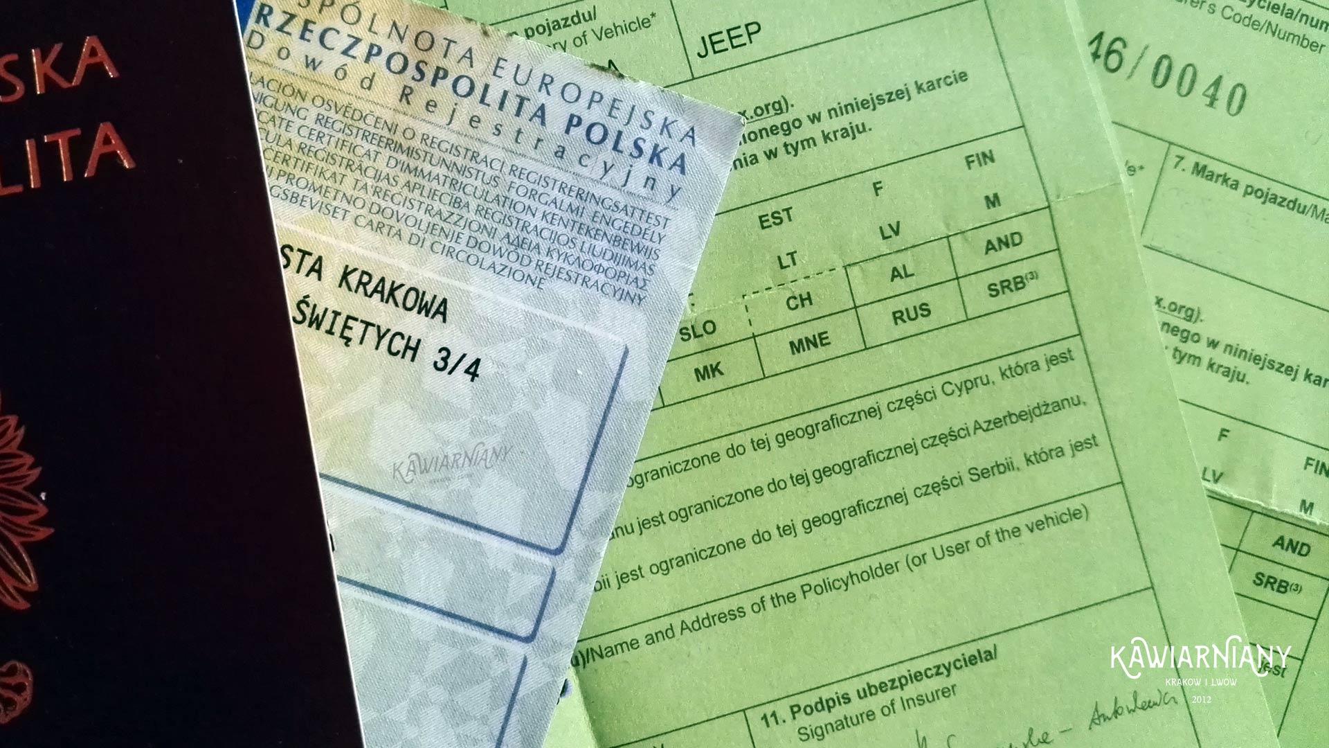 Zielona karta – co to jest? Gdzie poza Ukrainą jest potrzebna? Jak ją zdobyć?