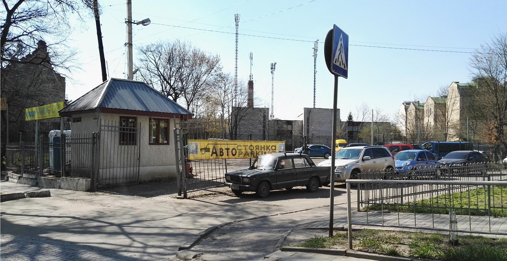 Tani parking strzeżony we Lwowie ul. Władimira Korolenki 8A