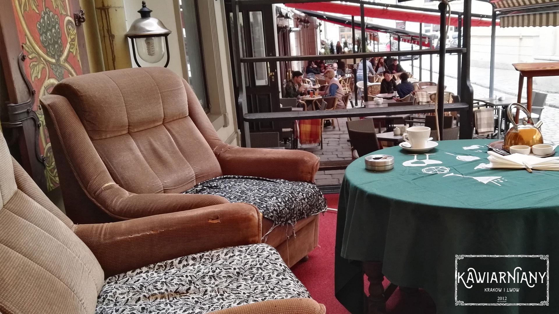 Najlepsza kawiarnia we Lwowie? Cafe 1 (Кафе 1), Plac Katedralny 5