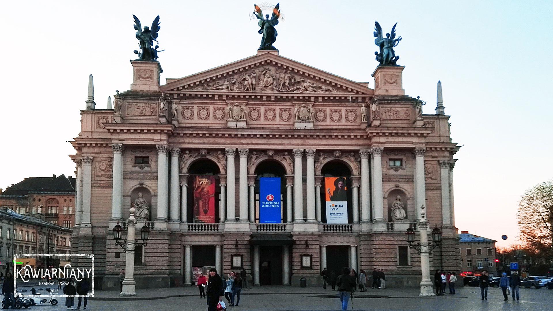 Lwów - opera lwowska