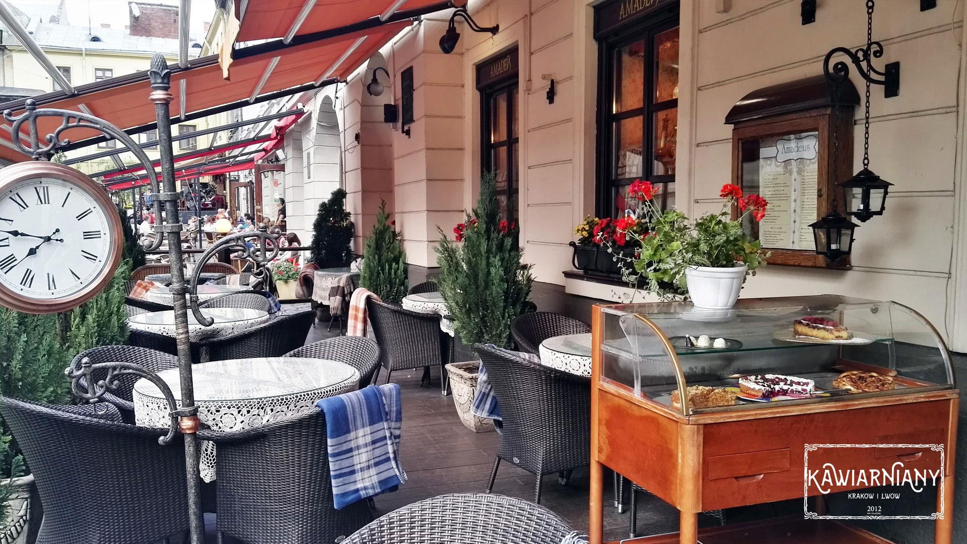 Co i gdzie jeść we Lwowie? Amadeus, Plac Katedralny 7, Lwów
