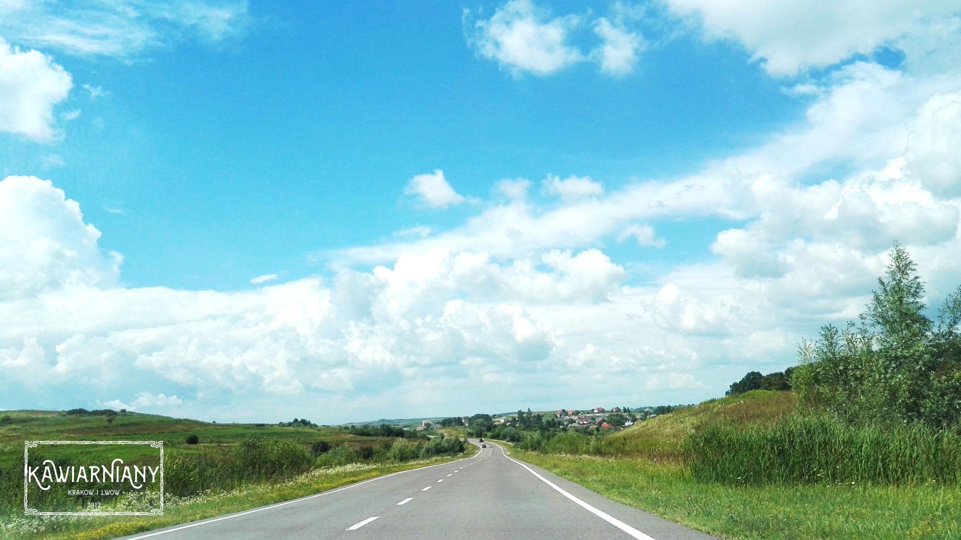 Lwów - droga dojazdowa