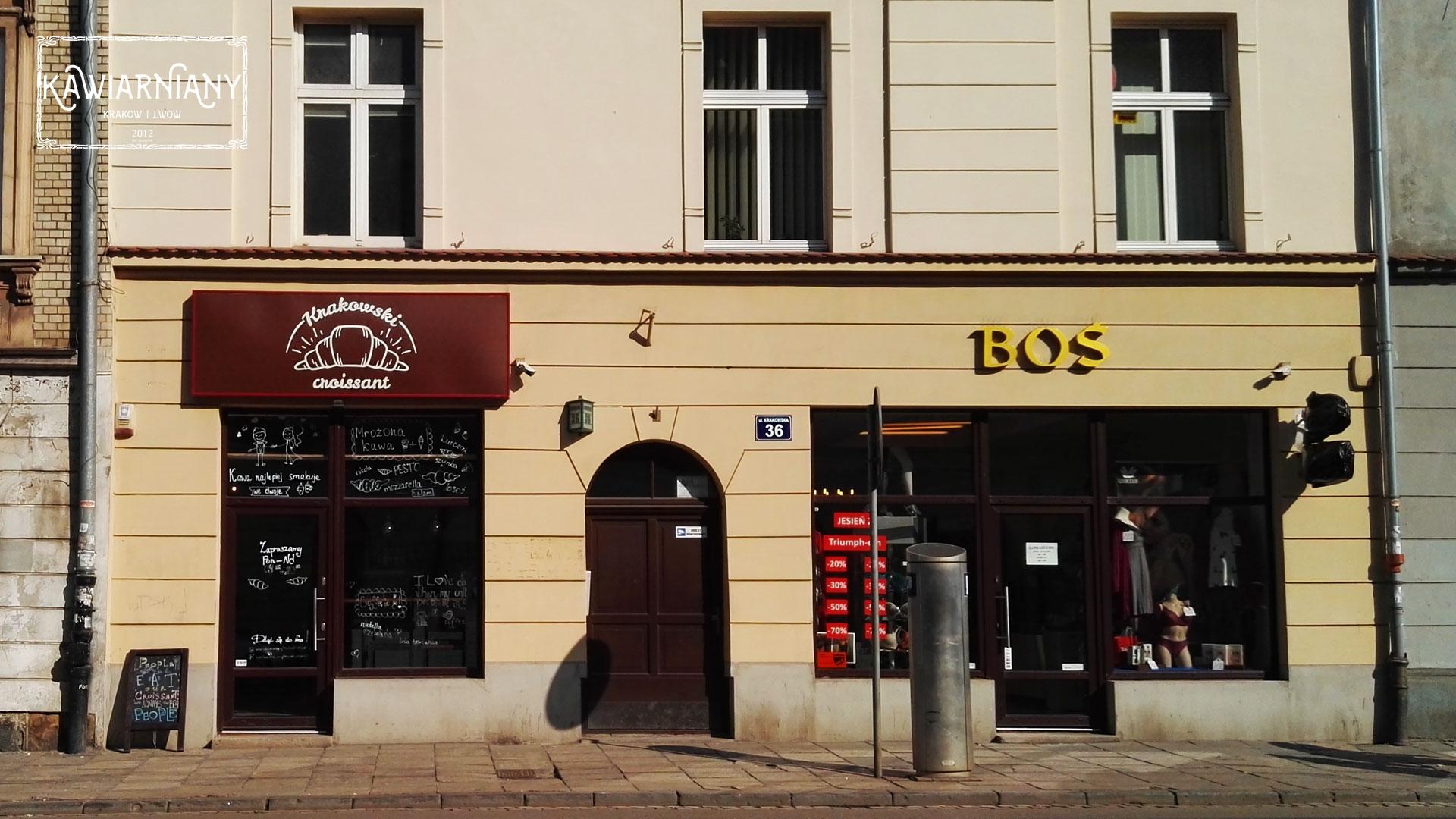 Krakowski Croissant – moda ze Lwowa w Krakowie. Kraków, ul Krakowska 36