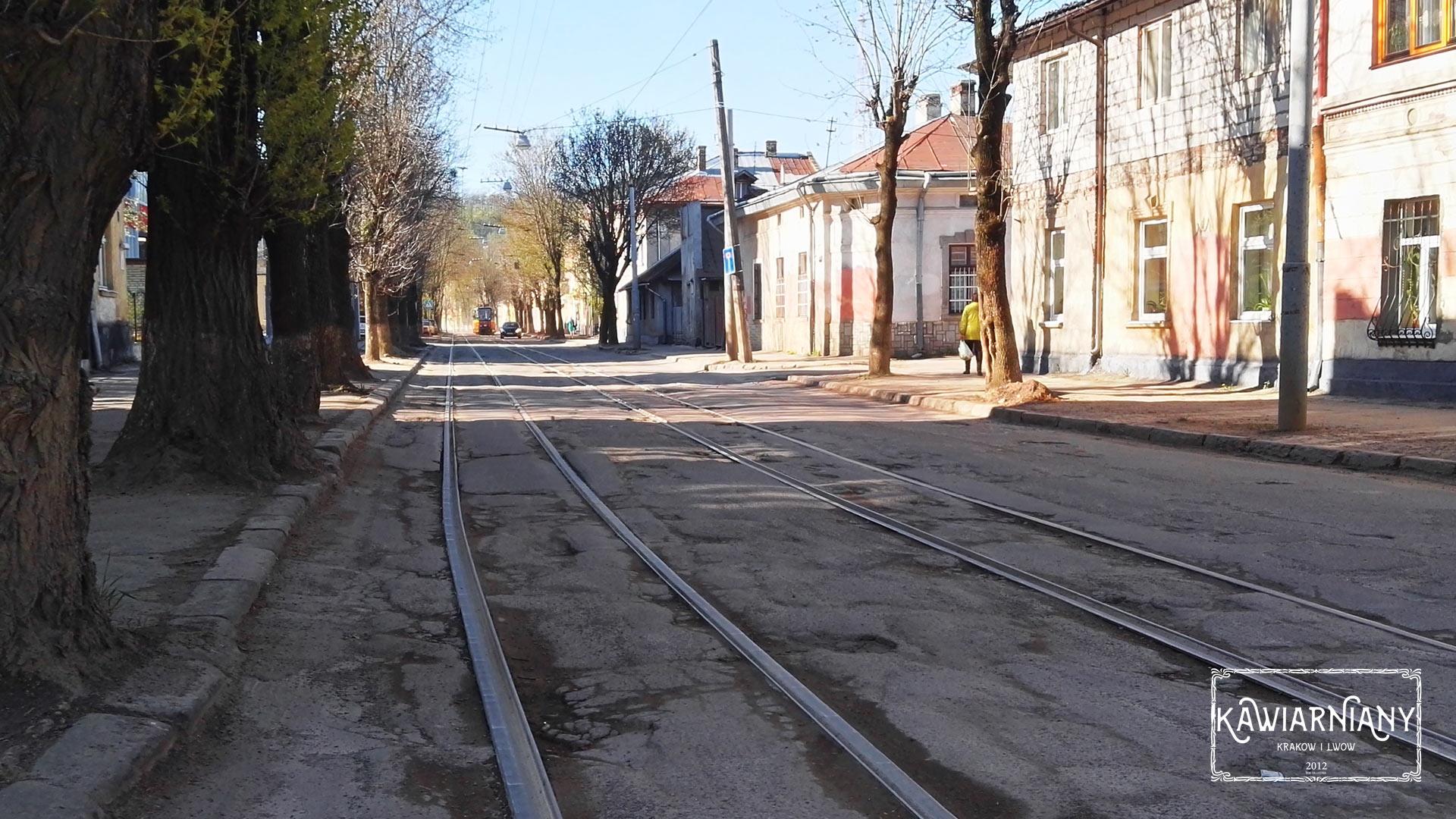 Lwów - stan torowiska