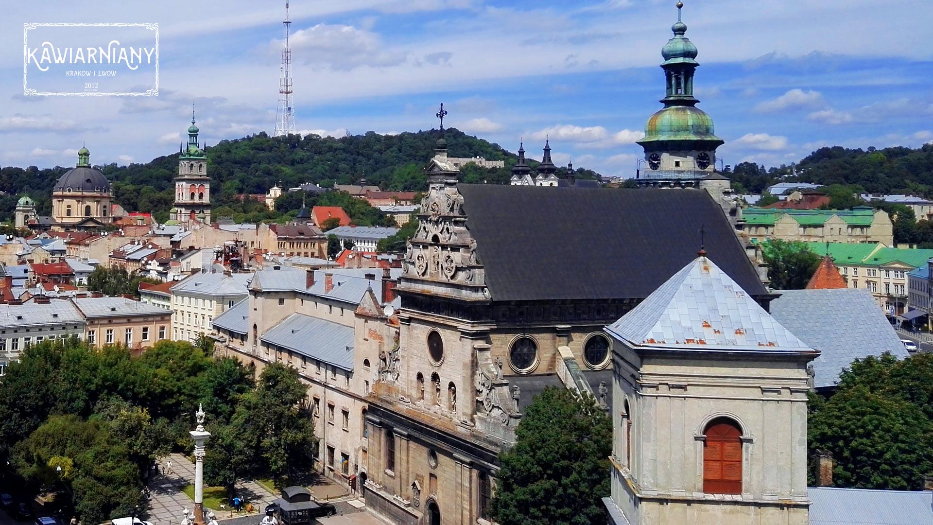 Lwów - widok na Lwów