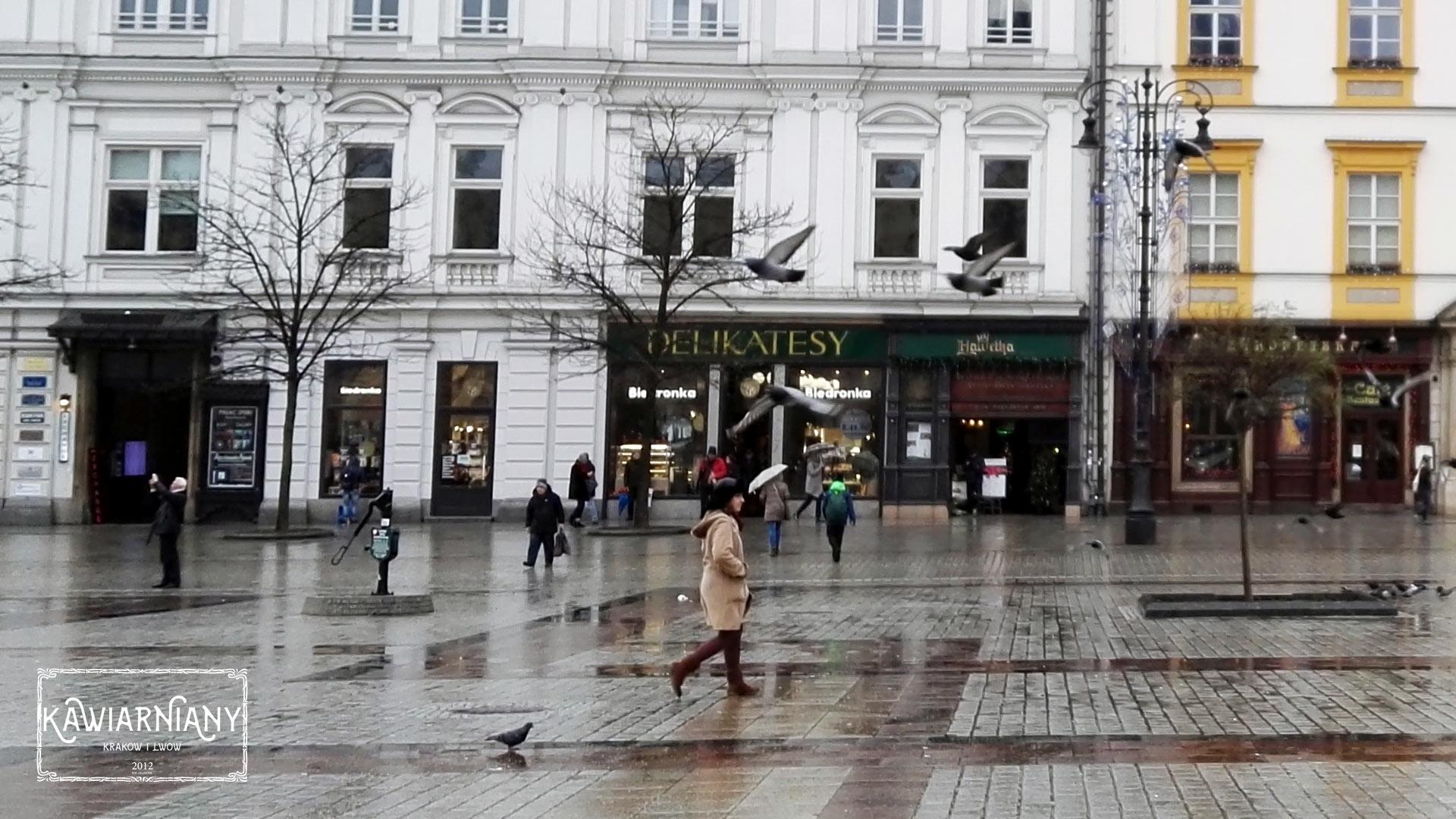Delikatesy Biedronka Na Rynku Głównym W Krakowie