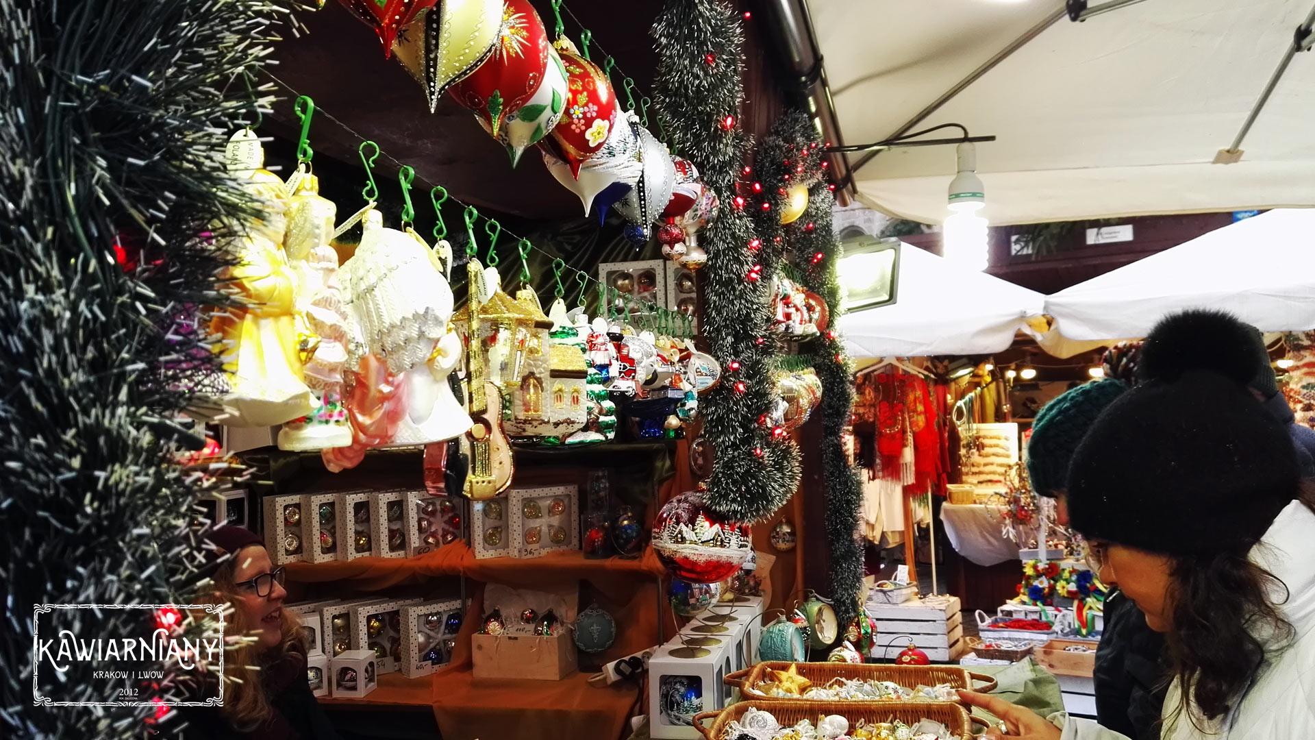 Jarmark Bożonarodzeniowy w Krakowie – targi świąteczne na Rynku