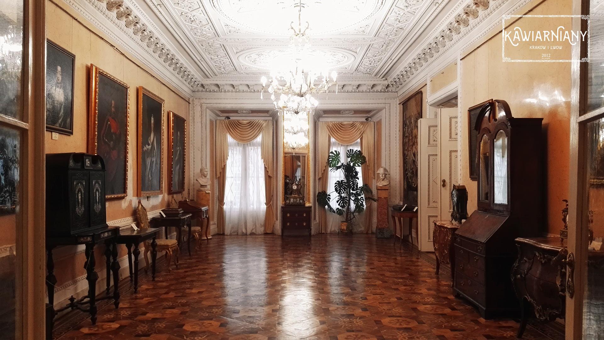 Lwów - Kamienica Królewska. Komnaty Króla Jana III Sobieskiego