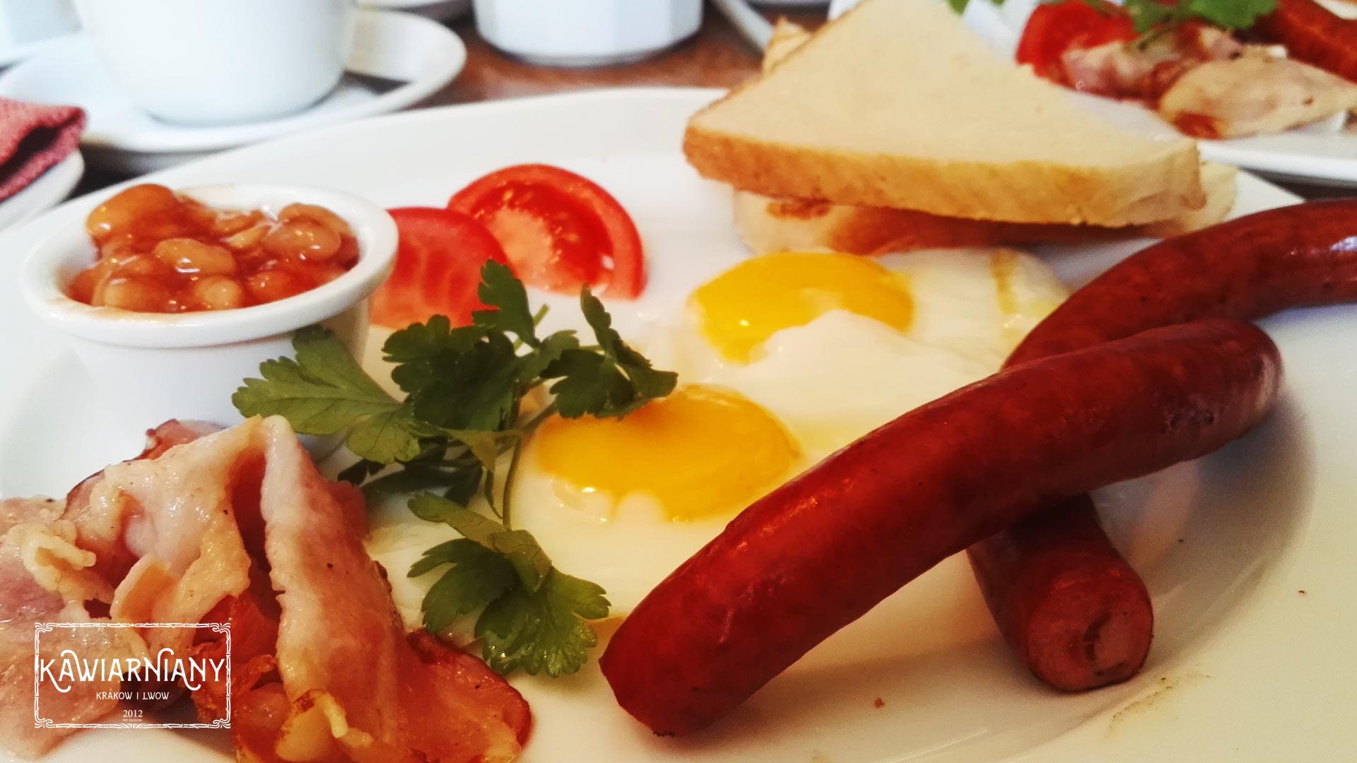Śniadanie kawiarnia Atlas Lwów
