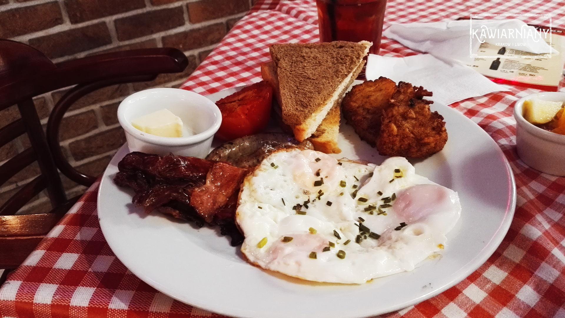 Jeffs Kraków - śniadanie