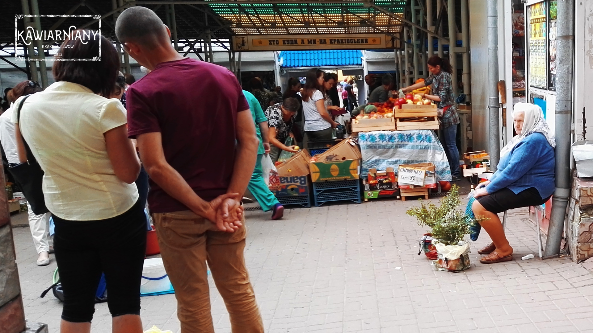 Lwów - bazar