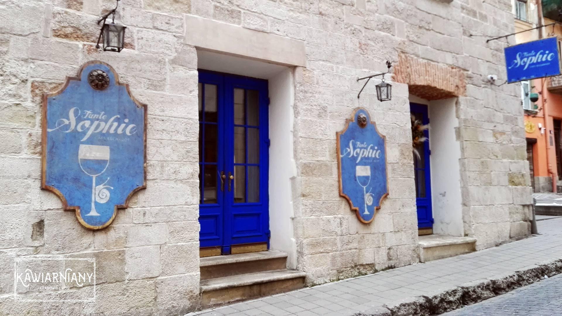 Lwów - restauracja Tante Sophie