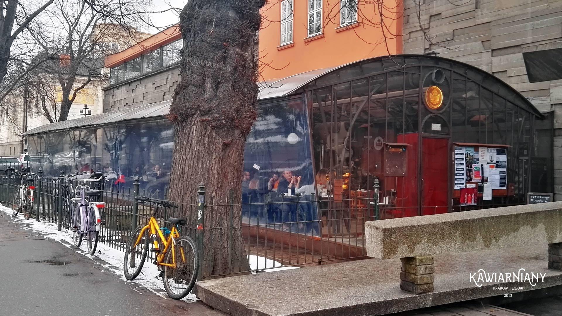 Kraków - Bunkier Cafe