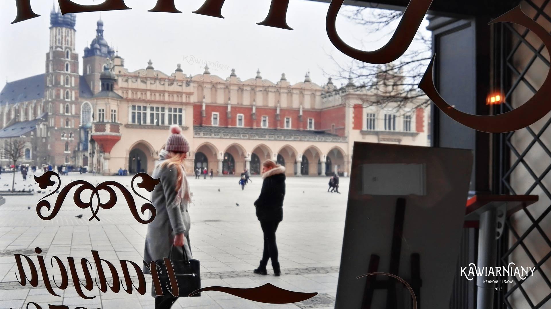 Kraków - Cukiernia Hawełka