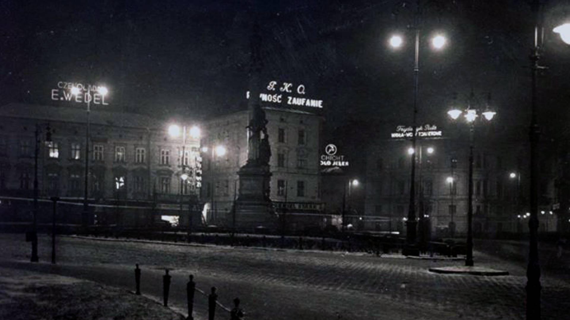 Lwów - plac Mickiewicza
