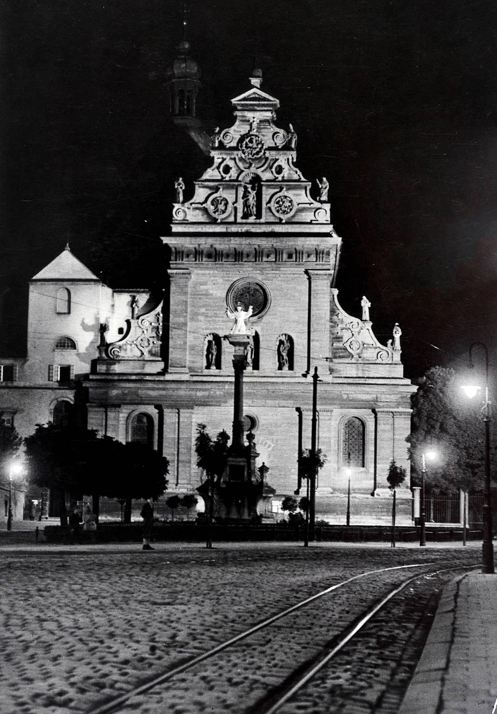 Lwów - kościół św. Andrzeja
