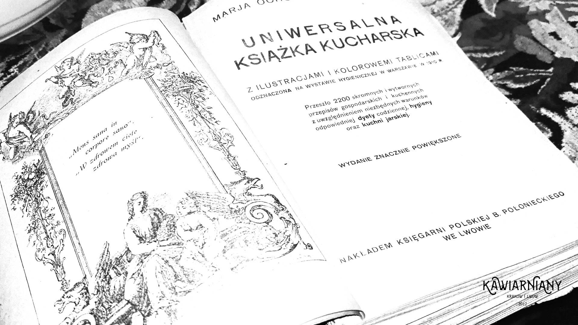 Przedwojenna książka kucharska ze Lwowa