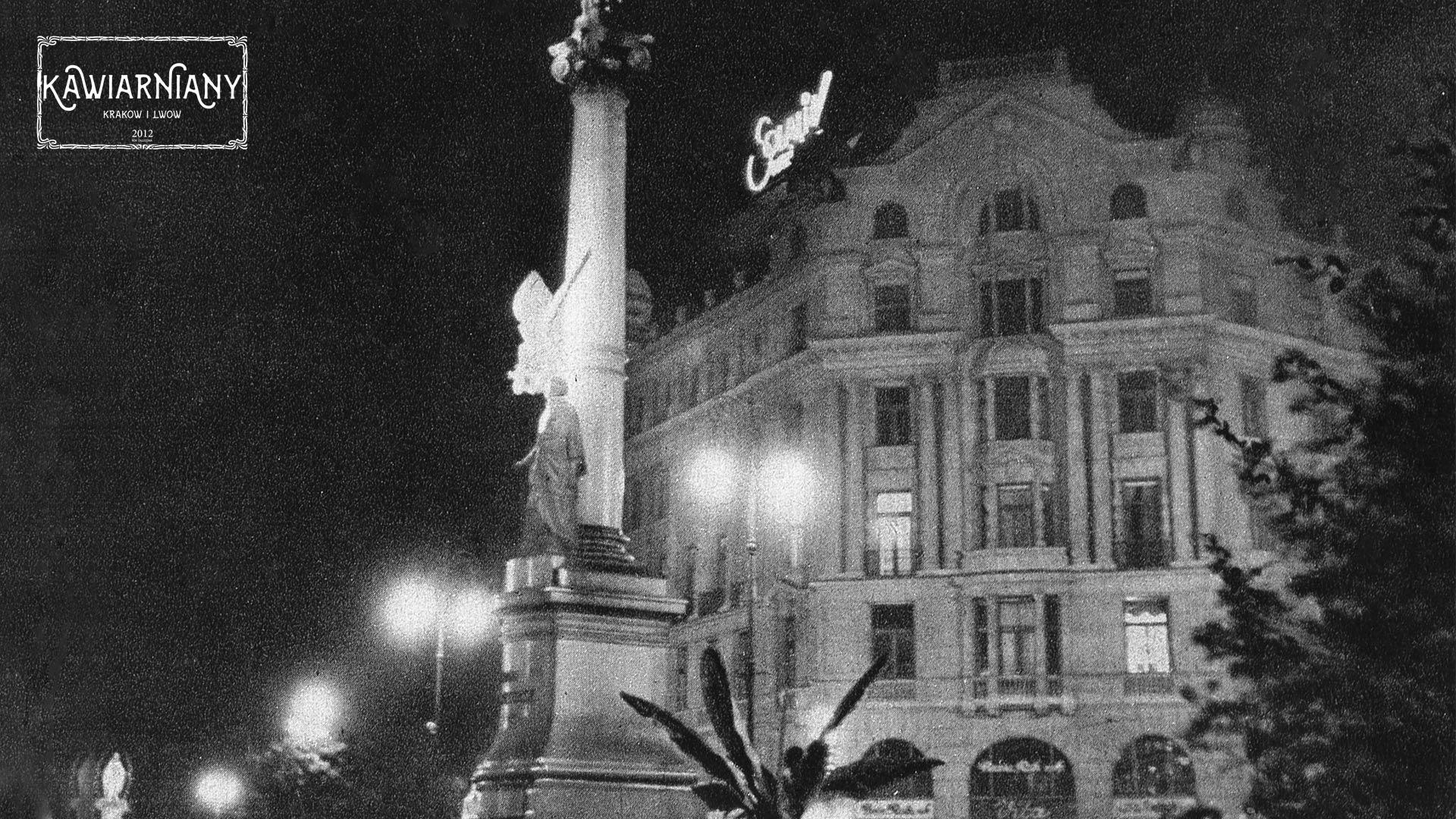 Lwów - Pomnik Adama Mickiewicza