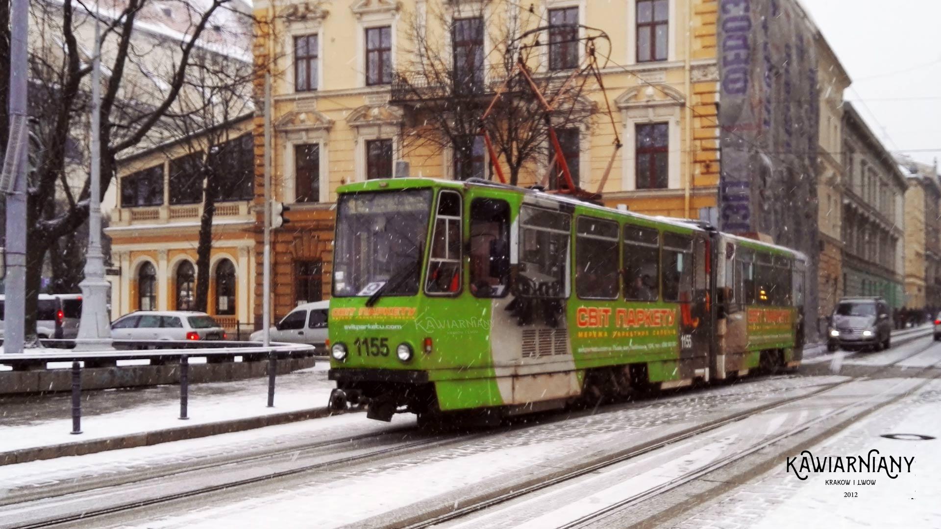 Lwów - tramwaj
