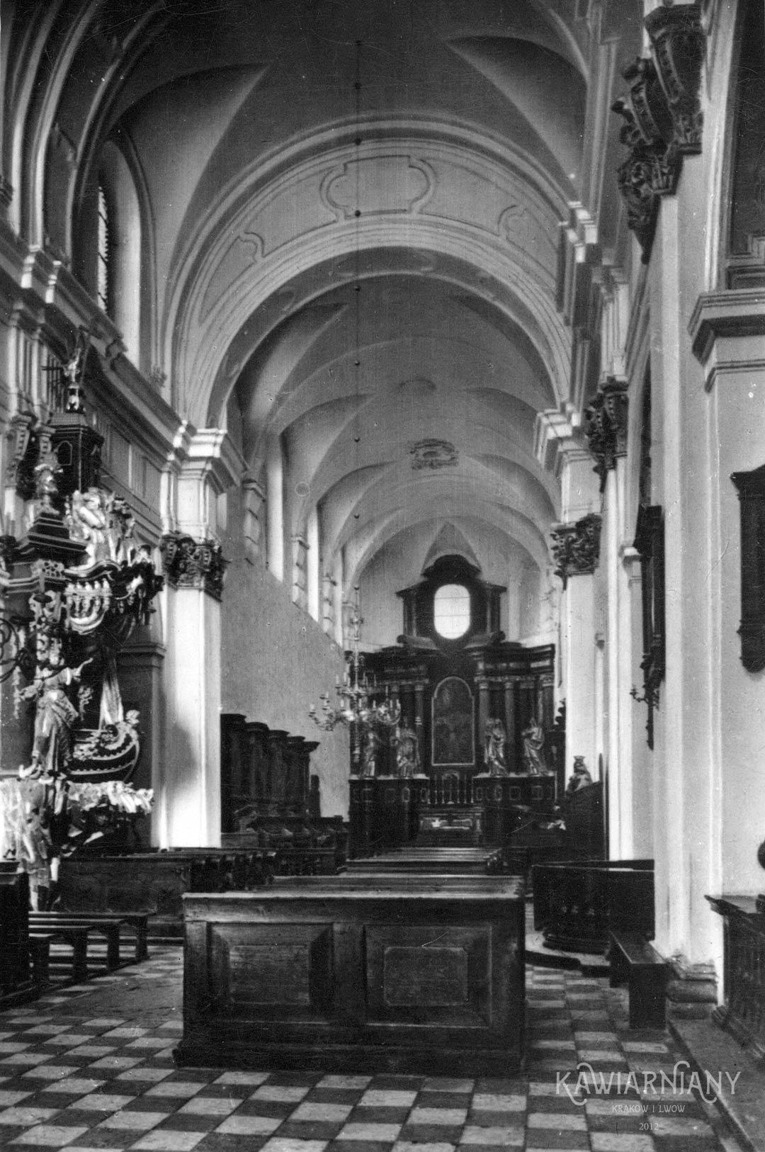 Tyniec - kościół św. Apostołów Piotra i Pawła