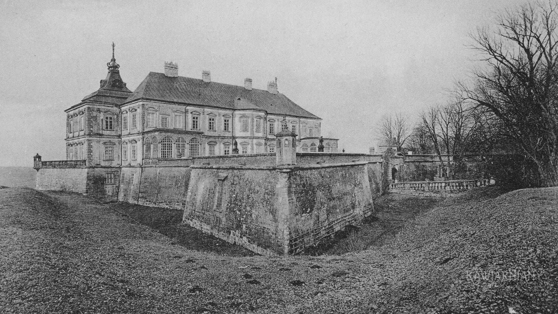 Pałac w Podhorcach koło Lwowa