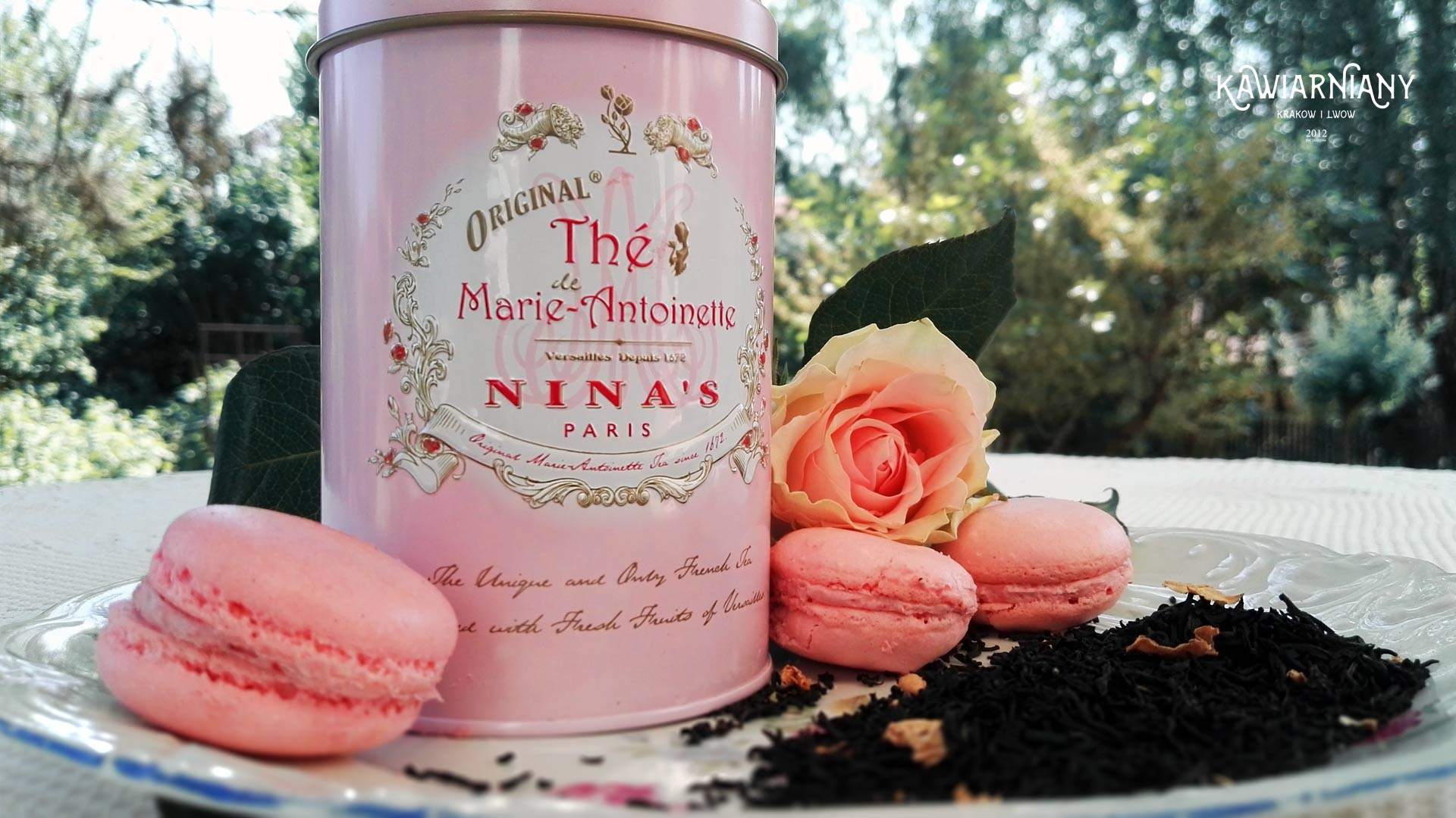 Herbata Ninas Paris Marie Antoinette
