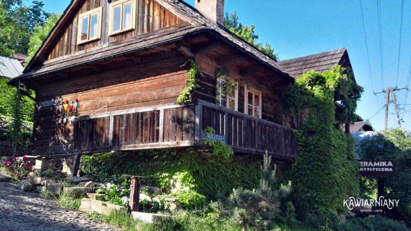 Lanckorona, dom z drewna