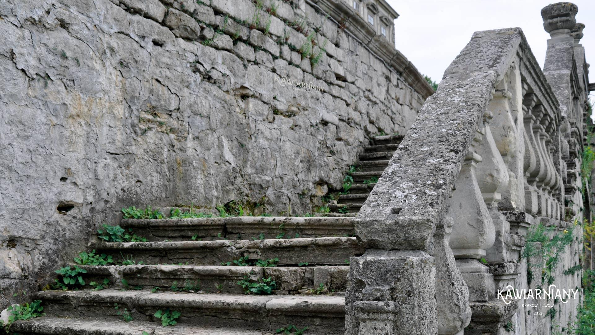 Zamek w Podhorcach, zniszczenia