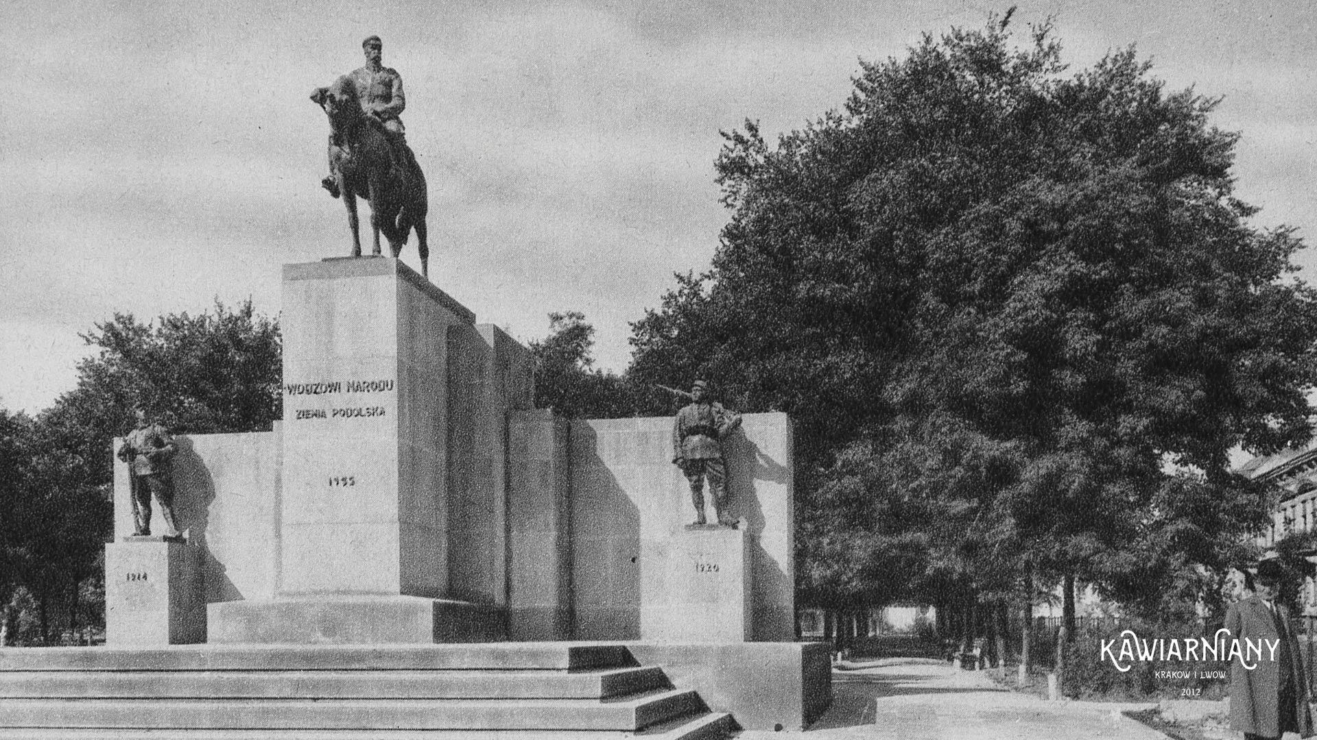 Pomnik Józefa Piłsudskiego, Tarnopol