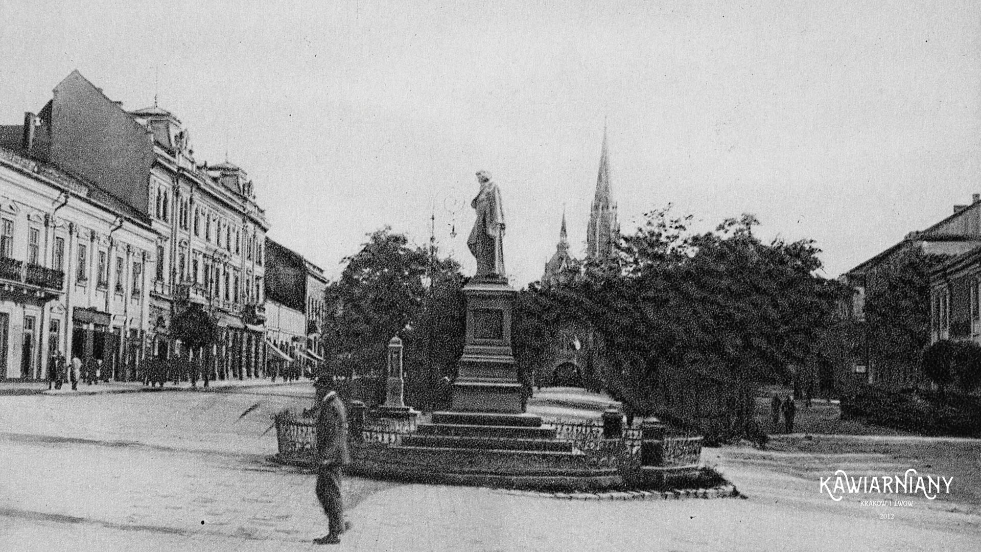 Pomnik Mickiewicza, Tarnopol