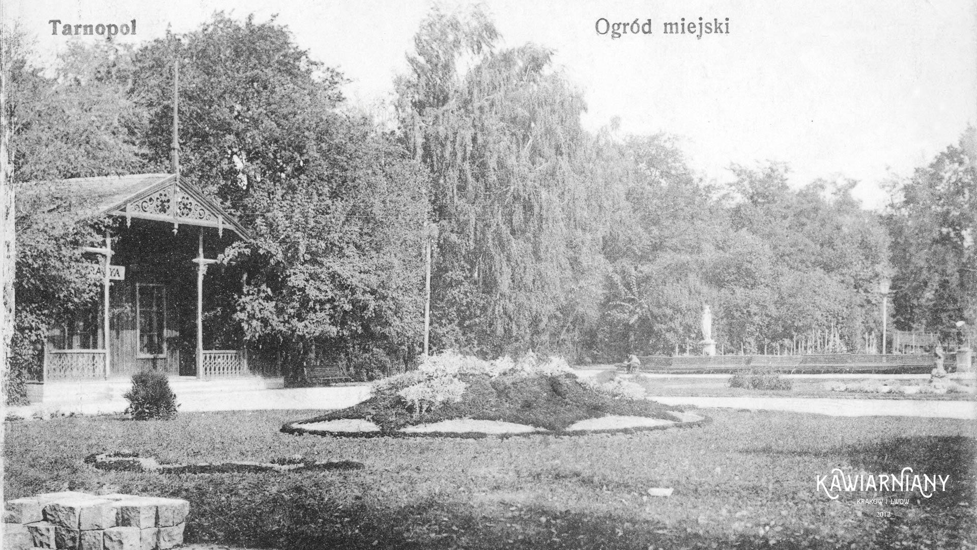 Ogród miejski, Tarnopol