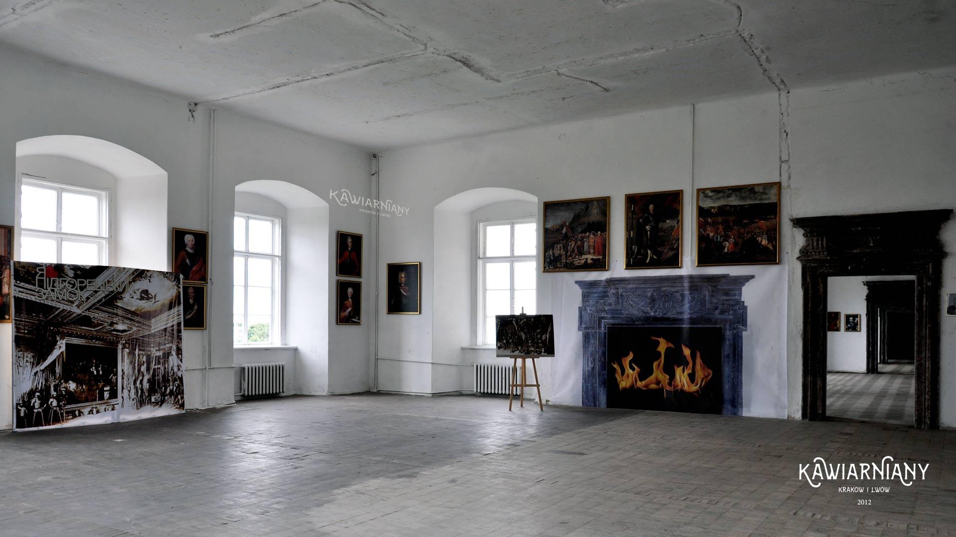 Zamek w Podhorcach, wnętrze