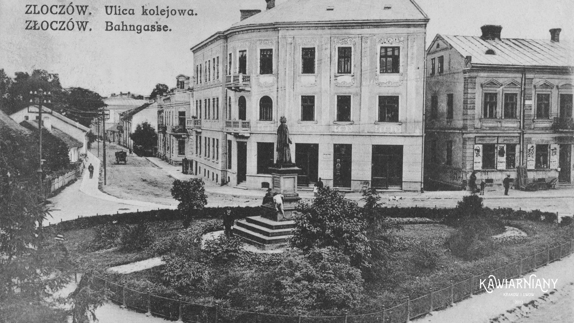 Złoczów, pomnik Adama Mickiewicza