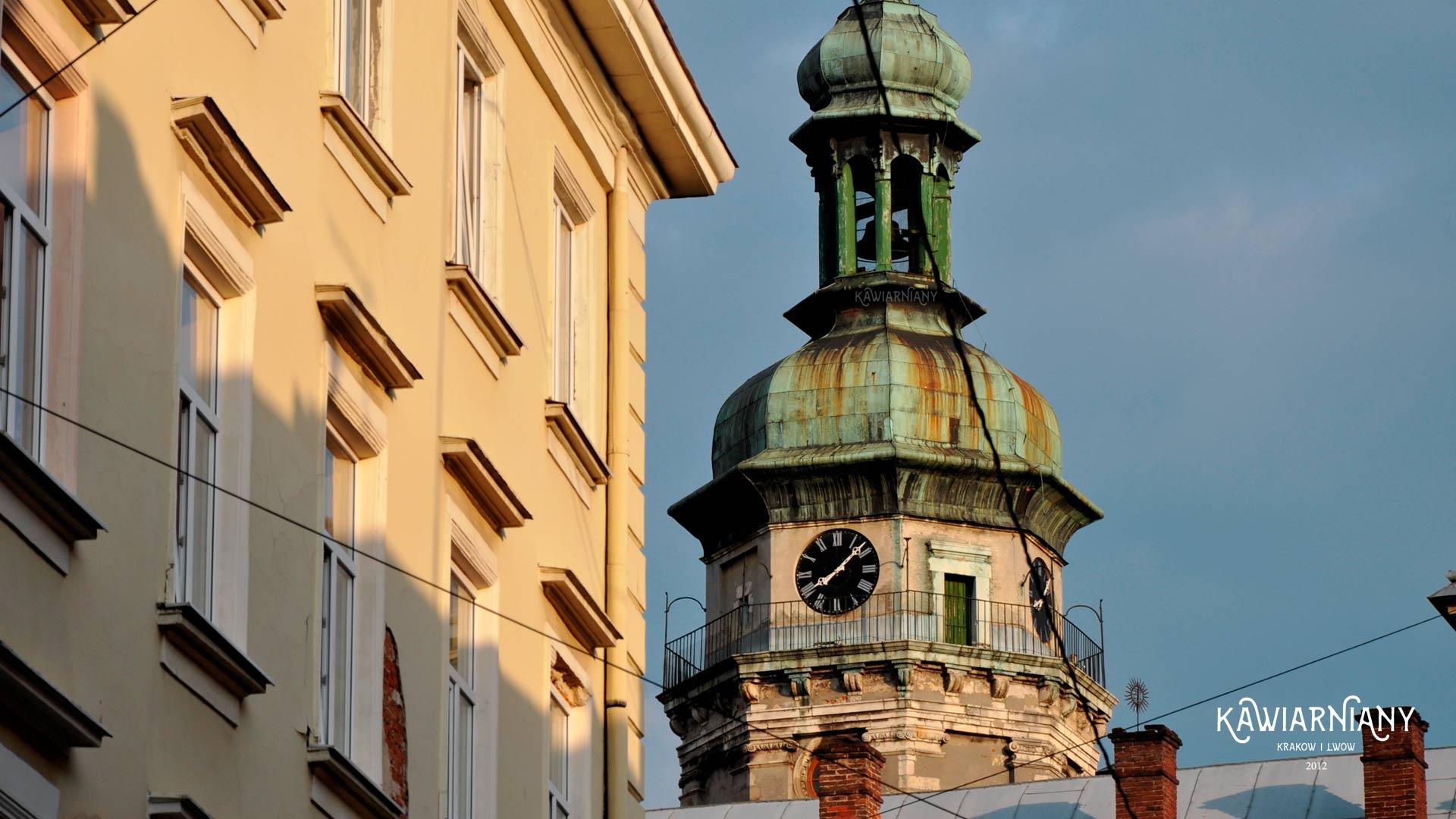 Lwów, wieża kościoła św. Andrzeja