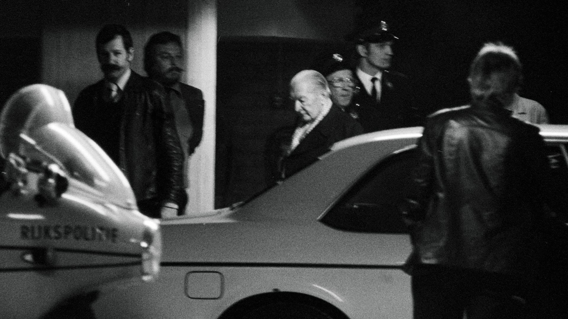 Pieter Menten - proces 1977. Fot. Domena Publiczna