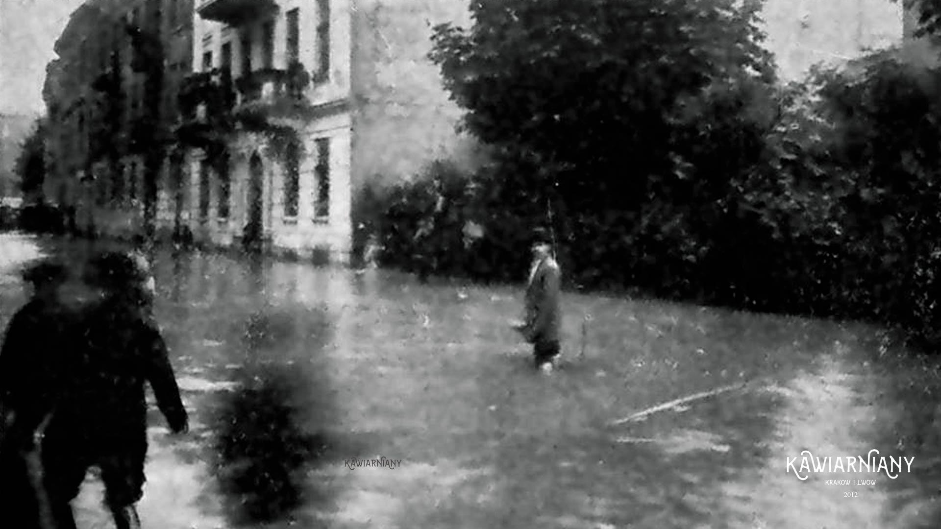100 lat temu też zalało! Ulewy i podtopienia Lwowa z początkiem XX wieku