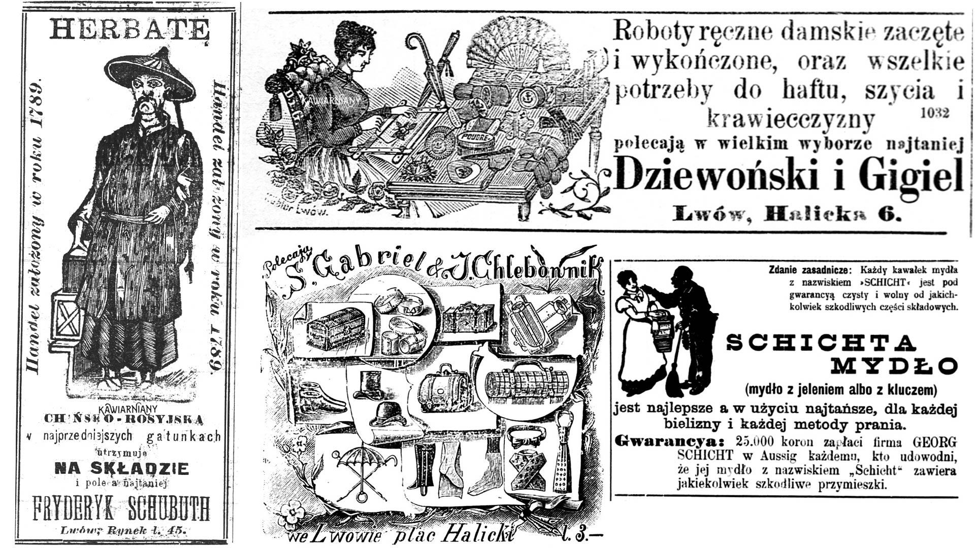 Secesyjna reklama prasowa we Lwowie