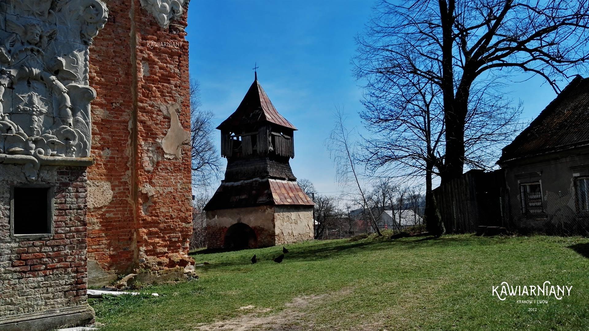 Kościół Stara Sól pw. św. Michała Archanioła, Stara Sól. Ruina 25 kilometrów granicy